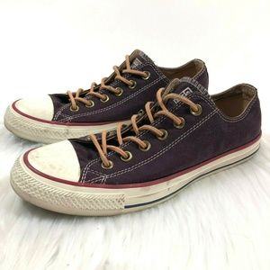 Converse Unisex Converse All Star Shoes Purple